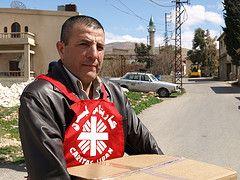 Caritas Lebanon volunteers