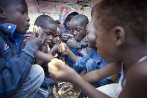 Migrant children in Algiers. Credit: Caritas Algeria
