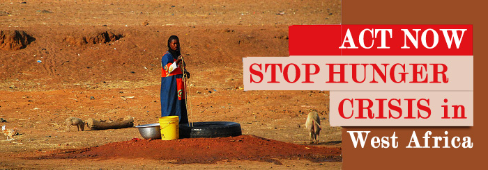Act now to stop hunger crisis in West Africa