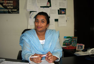 Anila J.Gill, Caritas Pakistan director Credits: Caritas