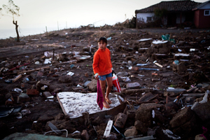 One year on from the earthquake and tsunami the poor are in a more precarious state. Credits: Katie Orlinsky/Caritas