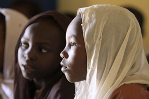 Giving girls a safe environment to learn in Darfur like theWohda Wattneya Co-School. Credits: Mohamed Nureldin/Act Caritas
