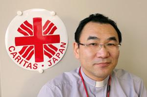 Bishop Isao Kikuchi, president of Caritas Japan Credits: Caritas