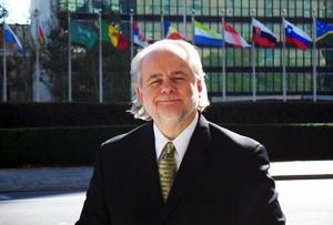 Joseph Donnelly, Caritas Internationalis Permanent Delegate at the UN in New York Credits: Caritas