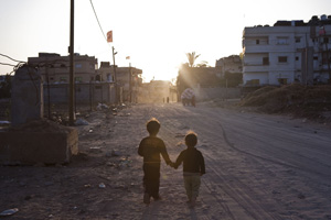 Caritas knows no boundaries of race, religion, or ethnicity enabling it to work in places such as Gaza. Credits: Katie Orlinsky/Caritas