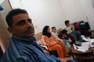 Adnan and his family are just some of the many Iraqis to have fled the conflict Credits: Caritas David Snyder