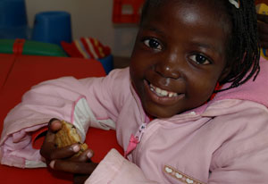 How Mosipho got her smile back Credits: Hough/Caritas