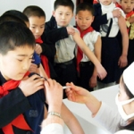Caritas has supported the vaccination of half a million children in Pyongyang in the first half of 2010 Credits: Wolfgang Gerstner/Caritas Germany