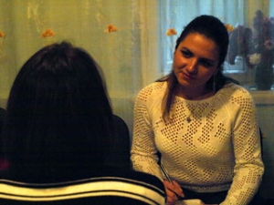 Caritas Spes of the Roman Catholic Church opened a centre in Kiev to provide psychological support to people living with HIV. Credits: Kronner