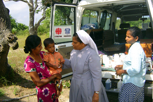 Caritas in Sri Lanka continues to work for a just peace. Credits: Caritas Sri Lanka