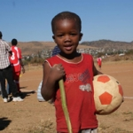 Ready to play for peace in the townships of Pretoria. Credits: Antoine Soubrier/Caritas South Africa