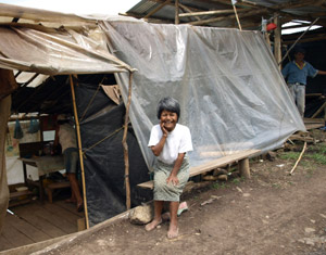 Migrants in Latin America leaving their home country to escape poverty Credits: Caritas/Hough