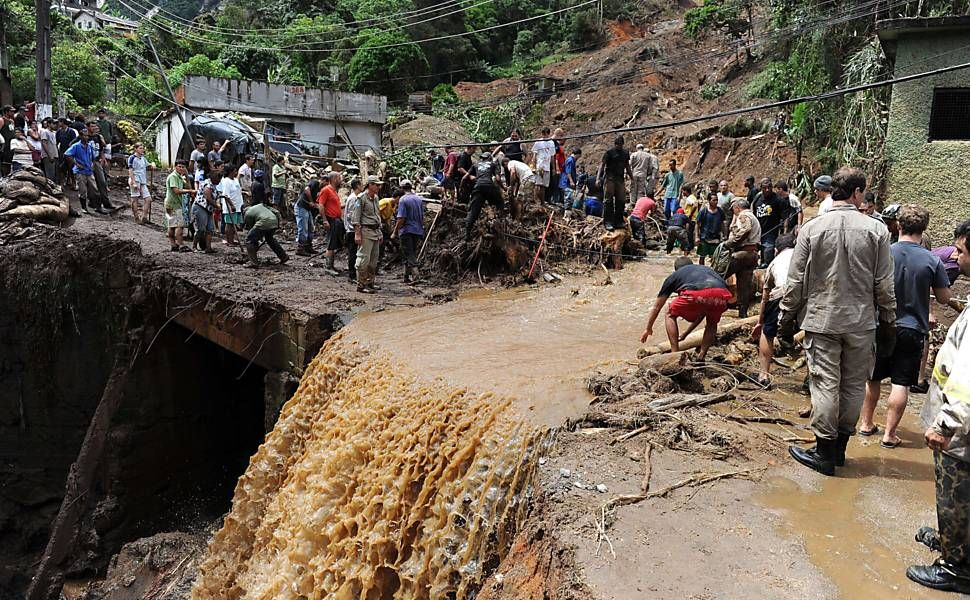 Rescue and aid operations are difficult as access to the affected mountainous areas around 100 kilometres north of Rio remains limited.  Credits: Caritas Brazil