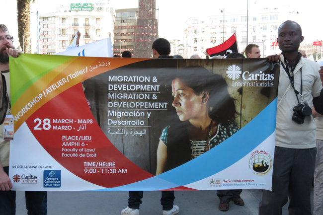 How Caritas works in Migration