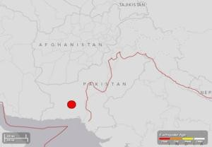Earthquake in Pakistan