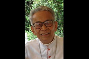 Bishop Michael Bunlen Mansap served as Vice President of Caritas Internationalis for the Asia and Oceania Regions from 1979 to 1984. Credits: Caritas
