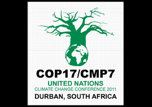 Twenty Caritas delegation will be taking part in several events in Durban in focusing on the impact of climate change in Africa. Credits: Courtesy of COP17/CMP7 brand