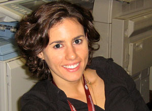 Emilie Della Corte, Emergency Programme Officer during the Tabasco Flood