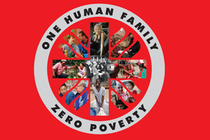 Caritas believes zero poverty is possible if we act as one human family. Credits: Caritas