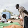Southern Sudanese started registering Monday for the poll on 9 January 2011.