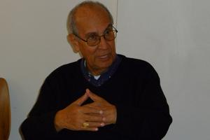 The late Bishop Jaime Prieto at Colombia working group meeting in Oslo (May 2010) Credits: Hough/Caritas