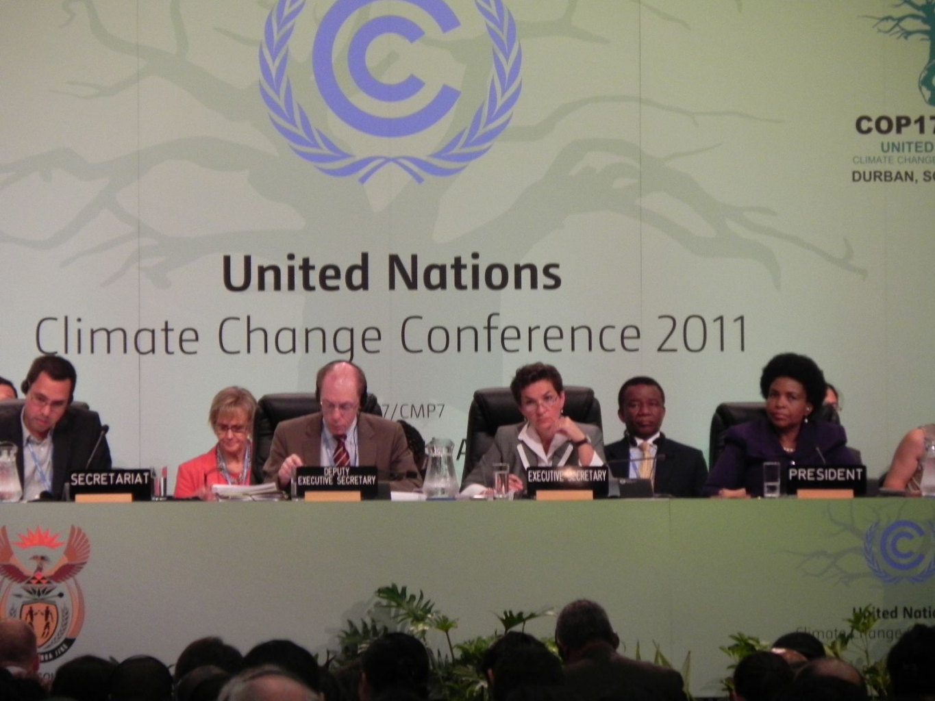 Caritas lobbies G77 bloc at Durban climate talks