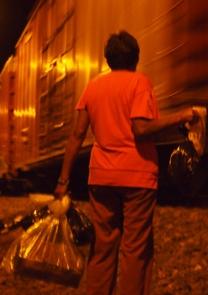 À bord des trains vers les États-Unis, les migrants ne sont pas seuls
