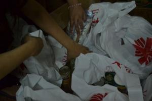 Caritas help pack