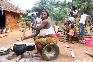 Crisis humanitaria en Costa de Marfil y Liberia