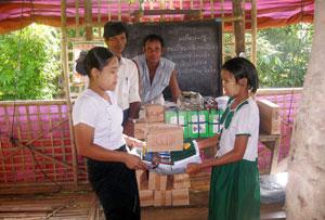 Comment Caritas a aidé le Myanmar après le passage du super-cyclone