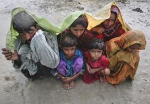 Vuelven las inundaciones en Pakistán