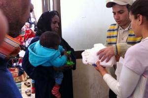Respuesta de Caritas a la crisis libia