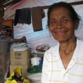 Violeta's family make a living through fishing squid,