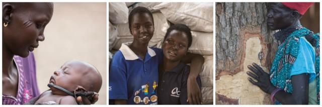 Collage South Sudan