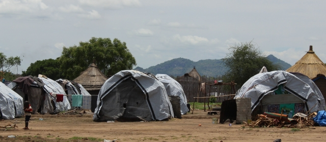 St Vincent de Paul IDP camp on the outskirts of Juba in South Sudan. Credit Faith Kasina/Caritas