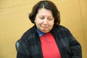Pauline Adam, 57, faces a lonely Easter. Credit Caritas Lebanon