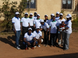 Caritas staff in the diocese of N'Zérékoré are among the team helping to contain the Ebola outbreak.