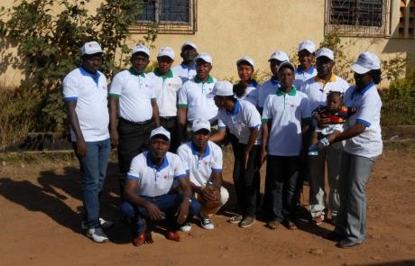 Travailler pour contenir la propagation d'Ébola en Guinée