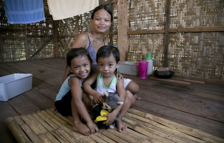 No place like home as families rebuild in the Philippines