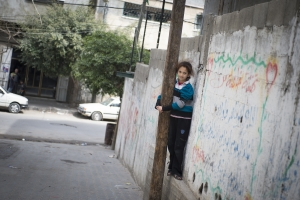 Children and their families living in the West Bank and Gaza are among the Middle East's most vulnerable populations. Elodie Perriot/Secours Catholique