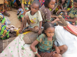 Children in Yaloké in Central African Republic are facing inhumane conditions. Credit: CARITAS CAR