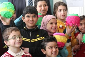 Caritas aims to provide a normal environment for Syrian children to learn. Photo by Caritas Jordan.