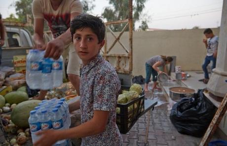 Caritas ayuda a las minorías iraquíes que escapan de  la violencia