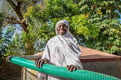 Voix du Darfour: Fourniture de l'eau