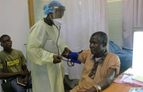 'No touch' rules in Africa after Ebola