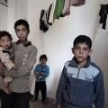 Caritas ayuda a los niños refugiados sirios en Zarka, una ciudad al noreste de Ammán, en Jordania. Foto por Alessio Romenzi / Caritas Suiza