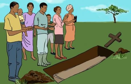 Los nuevos enterramientos de las víctimas del ébola tienen en cuenta las convicciones religiosas.