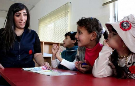 Caritas Jordan: child refugees need schools