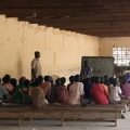 School for IDP children in Maiduguri, Borno state, Nigeria