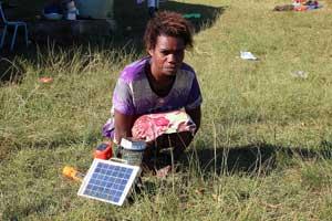 Besoin crucial d'abris  apres le cyclone au Vanuatu
